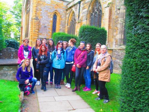 Stratford - Trinity Church - místo posledního odpočinku W.Shakespeara