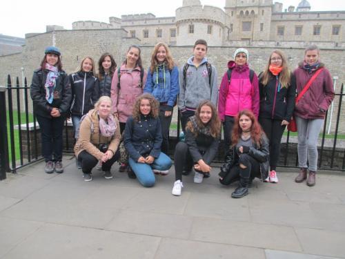 The Tower of London - chystáme sena korunovační klenoty ado White Toweru