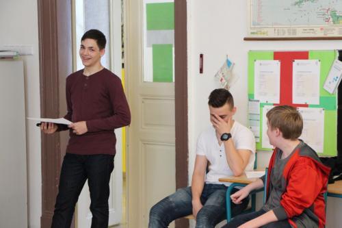 Oral presentation skills - vystoupení prospolužky skupiny Mgr. Zajícové dne 10.4. 2017
