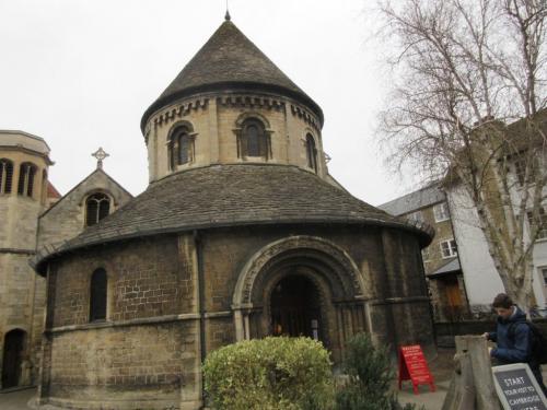 A round church in Cambridge