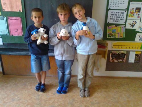 M aŠ vArktidě aAntarktidě - chlapci + arktická zvířata