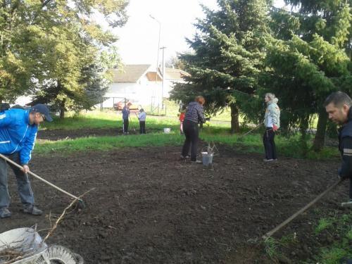Podzimní úprava školní zahrady