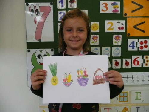 Kreslíme ovoce azeleninu