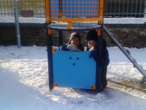 Vyvádění na sněhu