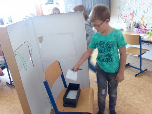 Volby do žákovského parlamentu...