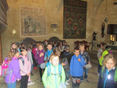 Výlet hrad Kost