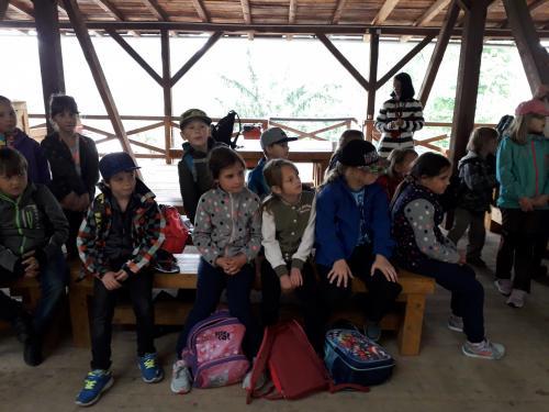 školní výlet Kost