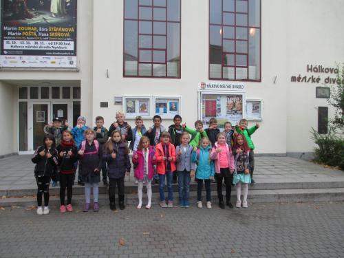 Hálkovo městské divadlo v Nymburce