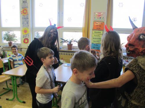 Mikuláš v naší třídě